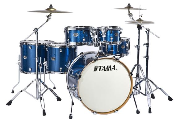 Tama VK62HS Silverstar Accel Driver 6-Piece Shell Kit Drum Set