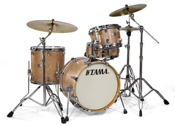 Tama VT48S Silverstar Jazz Tamo Ash 4-Piece Shell Kit Drum Set