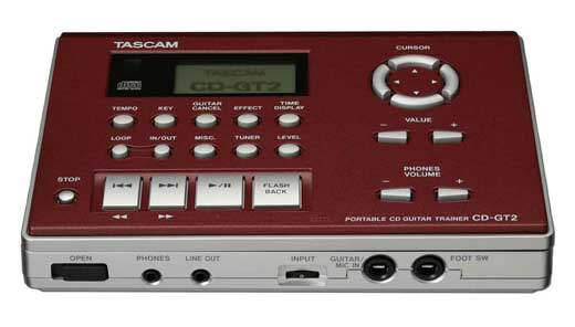 Tascam CDGT2 Portable CD Guitar Trainer