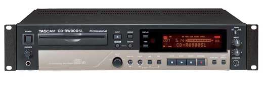 Tascam CDRW900SL CD Recorder with MP3 Audio Playback