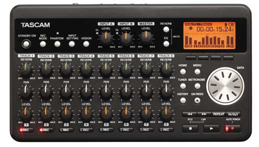 Tascam DP008 Digital Portastudio Recorder