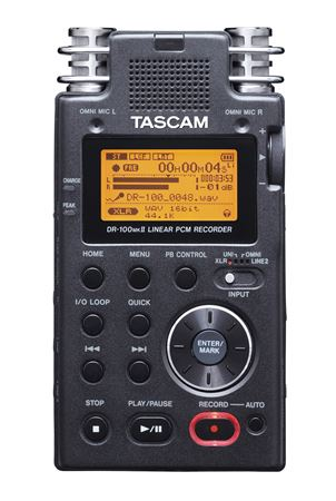 Tascam DR100 MKII Portable Digital Recorder