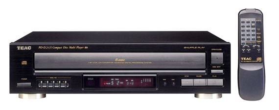 Teac PD-D2610 5 Disc CD Player with Remote