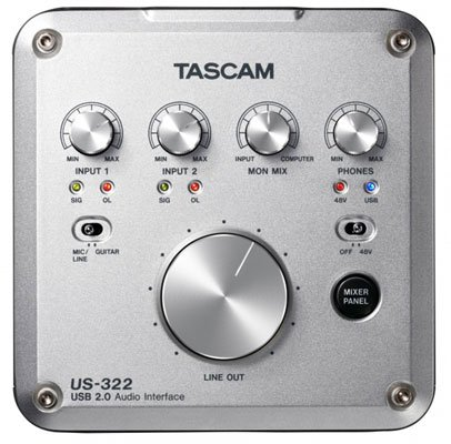 Tascam US322 USB Audio Interface