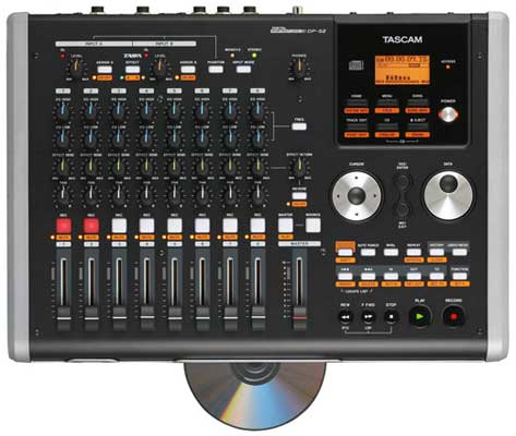 Tascam DP02 Portastudio Multitrack Recorder