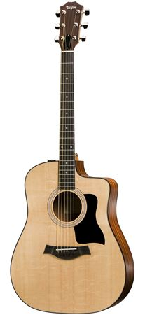 Taylor 110CE Cutaway Acoustic Electric Guitar with Gig Bag