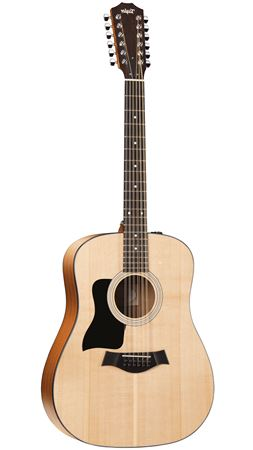 Taylor 150eLH 12-String Dreadnought ES2 Left Handed Guitar with Gig Bag