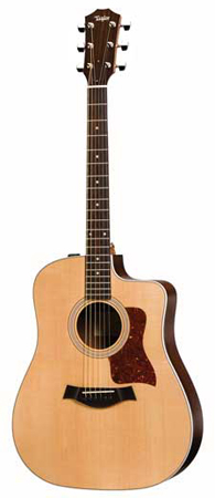 Taylor 210CE Cutaway Acoustic Electric with Case