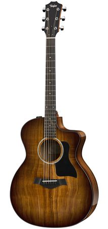 Taylor 224ce Deluxe Grand Auditorium Shaded Edge Burst with Case