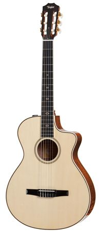 Taylor GCce-N-FLTD 2012 Fall LE Classical Acoustic Electric