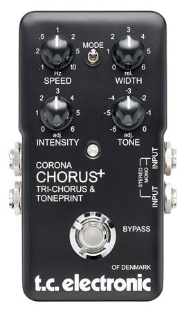 TC Electronic Limited Edition 40th Anniversary Corona Chorus Pedal