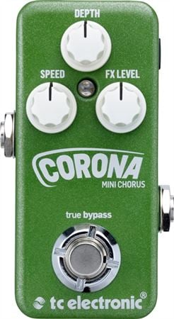 TC Electronic Corona Mini Chorus Guitar Pedal