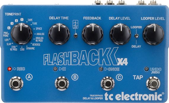 TC Electronic Flashback X4 Delay Looper Pedal
