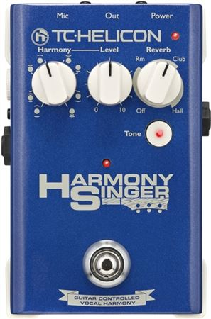 TC Helicon Harmony Singer Vocal Effect Pedal