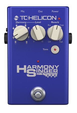TC Helicon Harmony Singer 2 Vocal Harmony Effects Pedal