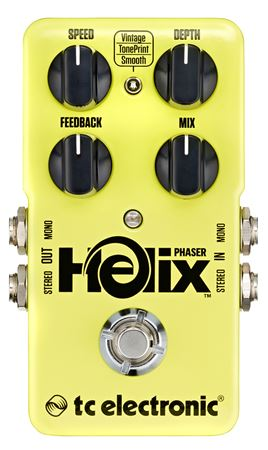 TC Electronic Helix Phaser Pedal with TonePrint