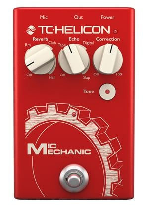 TC Helicon Mic Mechanic 2 Performance Vocal Effects Pedal