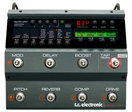 TC Electronic Nova System Guitar Multieffects Pedal
