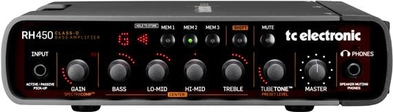 TC Electronic RH450 Bass Guitar Amplifier Head