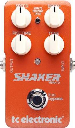TC Electronic Shaker TonePrint Vibrato Guitar Effects Pedal