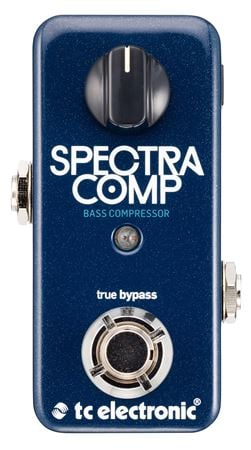 TC Electronic SpectraComp Bass Compressor Pedal with Tone Print