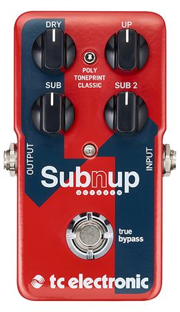 TC Electronic Sub N Up Octave Pedal
