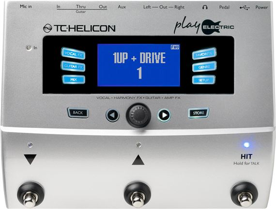 TC Helicon Play Electric Vocal Harmony and Effects Processor