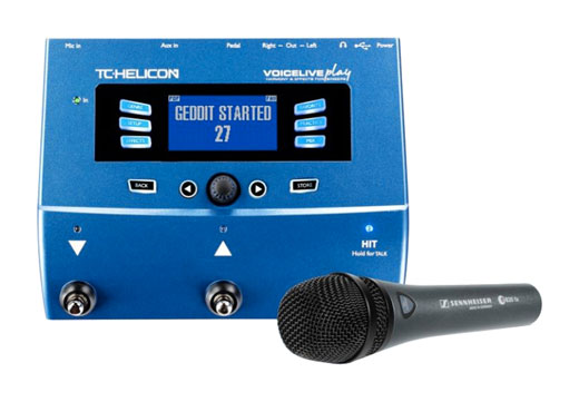 TC Helicon VoiceLive Play Processor and e835fx Microphone Package