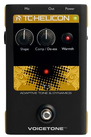 TC Helicon VoiceTone T1 Adaptive Tone Vocal Pedal