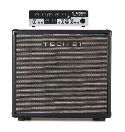 Tech 21 VTBass 500 Head with B112VT Cabinet
