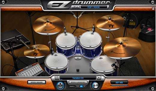 //www.americanmusical.com/ItemImages/Large/TOO EZDRUMMER LIST.JPG Product Image