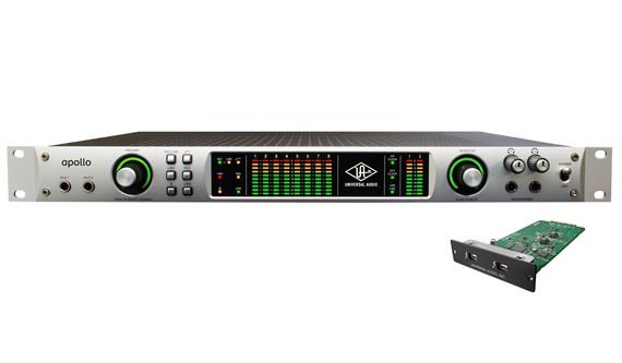 Universal Audio Apollo Quad Thunderbolt Firewire Audio Interface