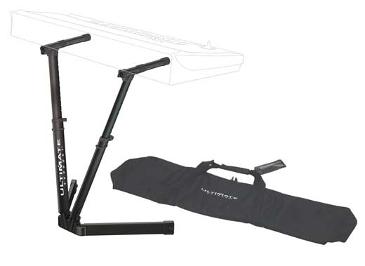 Ultimate Support VS80B V Keyboard Stand