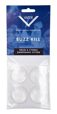 Vater Buzz Kill Extra Dry Drum Dampening Gels 4 Pack