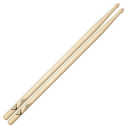 Vater VH55BB 55BB Hickory Drum Sticks Acorn Tip 16 1/2 Pair