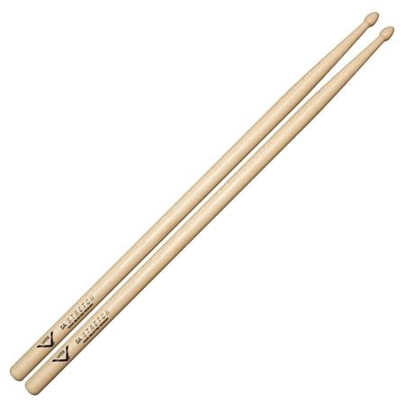 Vater VH5AS 5A Stretch Wood Tip Hickory Drum Sticks Pair