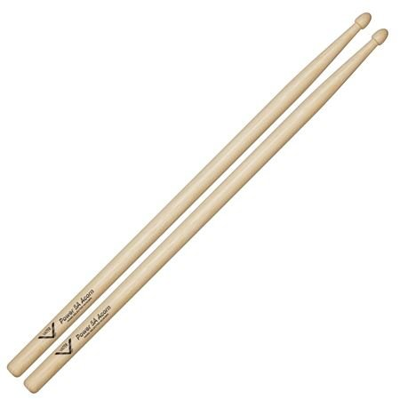 Vater 5A Power Hickory Acorn Wood Tip Drumsticks Pair
