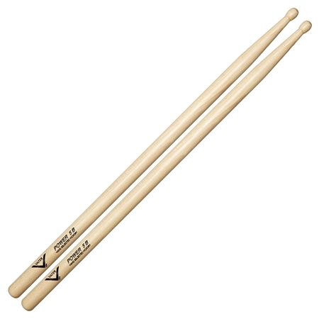 Vater 5B Power Hickory Wood Tip Drumsticks Pair