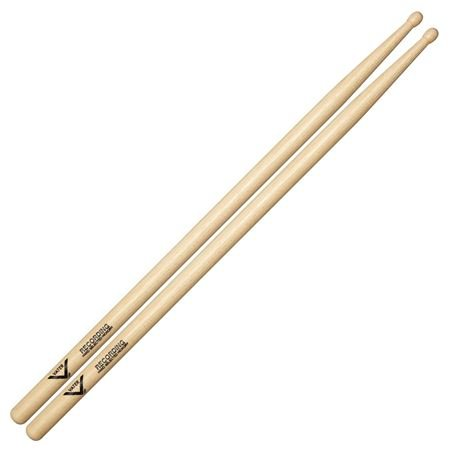 Vater VHRECW Recording Hickory Wood Tip Drum Sticks Pair