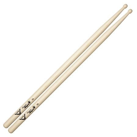 Vater VSM7AW Sugar Maple 7A Drum Sticks Wood Tip Pair