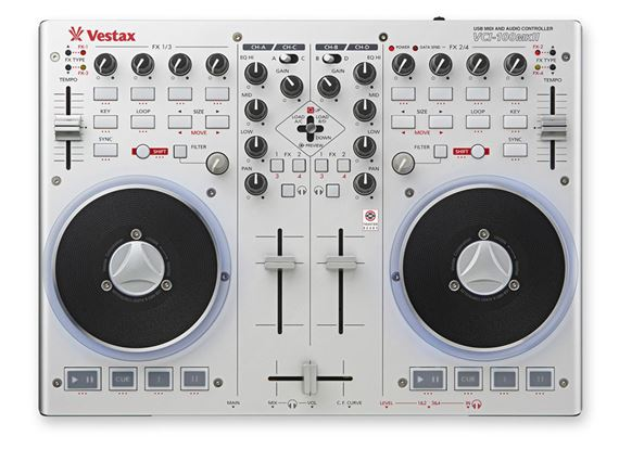 Vestax VCI100 MKII DJ Controller Control Surface