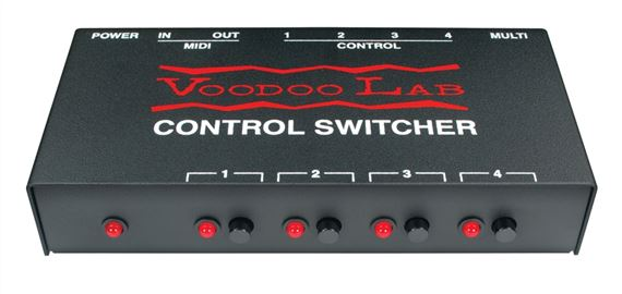 Voodoo Lab Control Switcher MIDI Amp Function Controller
