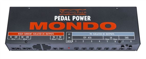 Voodoo Lab Pedal Power Mondo Guitar Effects Power Supply