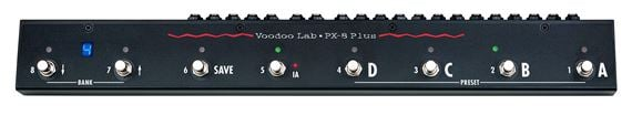 Voodoo Lab PX8 PLUS True Bypass Programmable Pedal Switcher