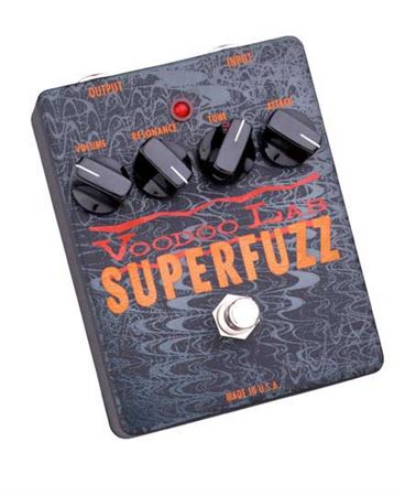 Voodoo Lab SF Superfuzz Distortion Pedal