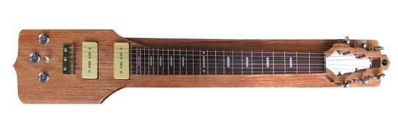 Vorson SL 100E Straight Lap Steel Guitar Package