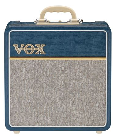 Vox AC4C1-BL Blue Limited Edition Guitar Combo Amplifier