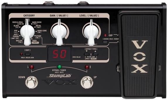 VOX STOMPLAB2G LIST Product Image