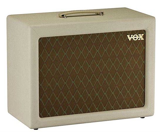 Vox V112TV Guitar Amplifier Extension Cabinet for the ACTV4H