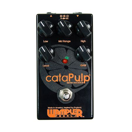 Wampler cataPulp Amp In A Box Overdrive Pedal with True Bypass